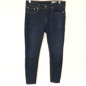 Rag & bone Cape Mid-Rise Ankle Skinny Jean 27